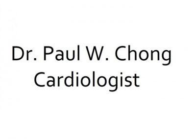Dr. Paul W. Chong (Cardiologist)